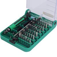 aparelho de reparação venda por atacado-45 Em 1 Chave De Fenda Set Intercambiáveis Pinça Repair Tool Kit Caixa de Extensão para o Reparo Do Telefone Móvel, eletrodomésticos reparação etc