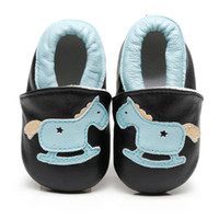 животное принт кожа подлинный оптовых-New Arrival Animal Print Genuine Leather Baby moccasins First Walkers Soft Sole Baby girl Boys shoes infant Crib Shoes 0-24month