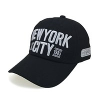 5ed7896f120 Embroidery New York City Baseball Cap Men Cotton Dad Hats Women Snapback  Hat Curved Ball Cap USA Distressed Vintage CAPS MX17184