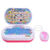 Wholesale english learning machine - Multi-functional Learning Machine Laptop Game Toy Baby Story Telling English Learning Children Early Educational Toys