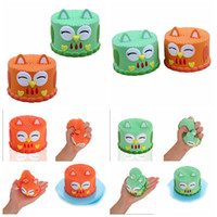 Wholesale owl toys for kids online - Squishies Owl Cake Slow Rising Kawaii Cute Owl Cake Creamy Scent for Kids Party Toys Stress Reliever Toy GGA910