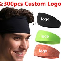 elastische bänder benutzerdefinierte großhandel-Benutzerdefinierte Logo NK Sport Yoga Gym Breite Stirnband Stretch Band haarbänder Kapuze Elastische Stirnband Für Sport Fitness