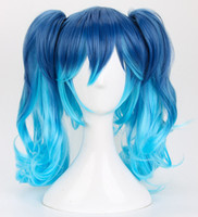 Wholesale projects sales - Kagerou Project MekakuCity Actors Enomoto Takane Ene Cosplay Wig + Tattoo >> FREE SHIPPING Cheap Sale Dance Party Cosplays