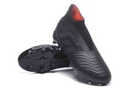 Wholesale shoes soccer for messi online - Mens High blue Football Boots Predator x Pogba FG Accelerator DB Kids Soccer Shoes PureControl X Purechaos Messi Soccer Cleats for women