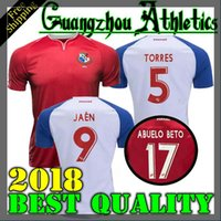 Wholesale red nurse - 2018 2019 PANAMA Home Away Soccer Jerseys NURSE GODOY TORRES OVALLE QUINTERO HOME AWAY JERSEY 18 19 RED WHITE FOOTBALL SHIRT