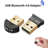 drahtlose bluetooth lautsprecher china großhandel-Bluetooth-Adapter für PC-Funkmaus Bluetooth-Lautsprecher für Computer 4.0 Musikempfänger CSR Wireless USB Bluetooth-Adapter