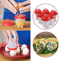 Wholesale egg cooker for sale - Silicone Boiled Eggs Kitchen Tools Gadgets Egg Cooker Egg Separator Hard Boiled Eggs