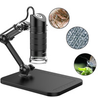 Wholesale electronics microscope online - Portable USB2 Digital Microscope X X Electronic Endoscope LED Million Pixels Practic Magnifier Microscope Camera