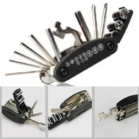 Wholesale Allen Key Wrench - Multi-Function Bike Motorcycle Mechanic Repair Tools Outdoor Travel Kit electric cars Allen Key Multi Hex Wrench Screwdriver Set