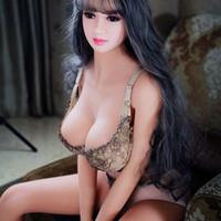 ingrosso bello giocattolo della bambola del sesso del silicone-Bambola del sesso di 158cm bello sesso adulto del silicone del masturbatore del giocattolo della masturbazione