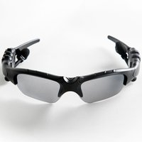 Wholesale electronic sunglasses for sale - Group buy Sunglasses Bluetooth Headset Outdoor Glasses Earbuds Music with Mic Stereo Wireless Headphone For Android IOS Smart Electronics