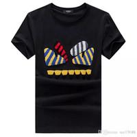 siyah ağır metal toptan satış-2018 MONCLERi aFEND Tee Erkekler Siyah T-Shirt Metallica Kafatası Baskı Ağır Metal Kaya Hip Hop Giyim Siyah kısa T Shirt
