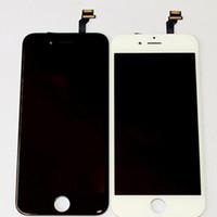 original touch display iphone plus venda por atacado-100% original display lcd touch digitador tela cheia substituição assembléia completa para iphone6 iphone 6 plus frete grátis