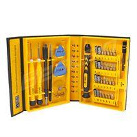 kit de herramientas de reparación de teléfonos móviles al por mayor-Bestsin 38 en 1 profesional herramientas de reparación multifunción Kits herramientas de apertura destornillador herramienta de reparación de precisión para teléfono móvil