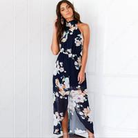 19ccdd56f9cc9 Wholesale plus size hippie clothes for sale - Elegant Women Dress Hippie  Boho Women Summer Robes