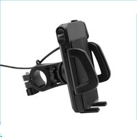 Wholesale phone charger cable holder for sale – best 2 in IP65 Waterproof Motorcycle Cell Phone Mount Holder with V A USB Charger Power Switch FT Power Cable UCH IN RETAIL
