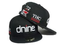 Wholesale dnine reserve hats for sale - Group buy 2018 New Arrival black D9 Reserve dnine letters snapback hats front for men women ball caps adjustable man baseball hats high quality