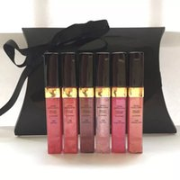 Wholesale new make up brands - New Makeup Brand Lipgloss Different Color Lipgloss Set Make Up Sample Size Lip Gloss with box Anita