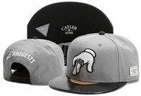 baseball hats navy blue venda por atacado-HALL MARY cayler filhos azul marinho esportes chapéus mulheres homens bonés de beisebol snap backs caps moda hip hop caps