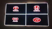 auto kit drl оптовых-12 в автомобиль RGB LED DRL полосы света 5050SMD авто пульт дистанционного управления декоративные Гибкие светодиодные полосы атмосфера лампы комплект противотуманные фары