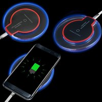 Wholesale charger for x mini online – In Stock Crystal Fantasy Qi Wireless Charger For iPhone X Plus Charging Pad Mini for Samsung S6 S7 S8 with Retail Package