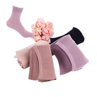 Wholesale women socks nylon short - Autumn Winter High Elastic Velvet Nylon Socks For Women Skin Color Short Socks Anti -Hook Wire Resistant To Wear 10pairs  Lot