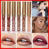 Wholesale lipsticks lime online - New Colors Sexy Cosmetics Lime Moisturizing Red Velvet Matte Liquid Lipstick Makeup Lip Gloss Cosmetic Lip Stain Maquiagem