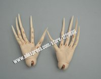 Wholesale fantasy bodies - bjd sd extra long nais hands jointed hands fantasy devil zombie vampire bjd dolls free shipping fit SID body