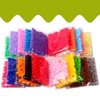 Wholesale education toys for sale - Handmade Wool Ball Preschool Education Security Non Toxic Balls Parent Child Toys Beneficial Wisdom With Mixed Color Soft hy jj