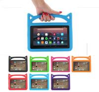 Wholesale kindle handle resale online - Cute Kids Handle EVA Foam Shock Proof Kid Proof Tablet Cover for iPad Mini Air New ipad Kindle Fire