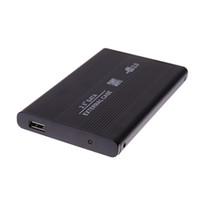 sata dizüstü bilgisayar sabit disk muhafazası toptan satış-480M / saniye Harici Depolama 3 TB Sürücü HDD Mobil Disk Kutusu USB 2.0 Dizüstü SATA 2.5 Sabit Disk HD Muhafaza