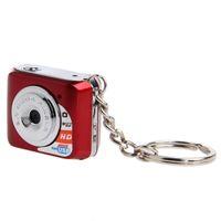 kamera pc taşınabilir toptan satış-Ücretsiz Kargo 30FPS CMOS Benzersiz Ultra Taşınabilir Tasarım Dijital Mini Küçük Kamera Pc Kamera Fonksiyonu ile