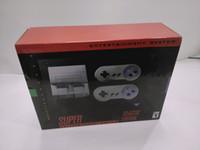 oyun sistemi oyuncu toptan satış-Klasik 21 Edition FC Süper N Eğlence sistemi SFC NES SNES Oyuncu Klasik MINI konsol denetleyici oyunları ile konsolu