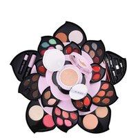 ingrosso le ombre di occhio delle signore-Hot Beautiful Lady 26Colors Set di ombretti per il trucco Palette Cosmetic Eyeshadow Blush Lip Gloss Powder set