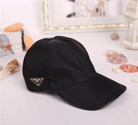 chapéus de beisebol azuis alaranjados venda por atacado-Tampão de luxo de alta qualidade homens mulheres chapéu esporte ao ar livre lazer strapback chapéu estilo europeu designer chapéu de sol marca boné de beisebol com caixa