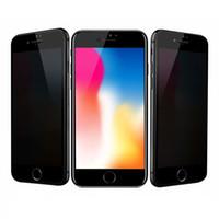 iphone için gizlilik ekran koruyucuları toptan satış-Anti-Casus Temperli Cam Gizlilik Ekran Koruyucu Için iphone 8 7 6 6 S Artı 5 5 S SE X 9 H Durumda Dostu Ekran Koruyucu