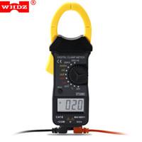 Wholesale Digital Ac Clamp Multimeter - Digital Clamp Original WHDZ Mini Digital Clamp Meters Ammeter AC DC Voltage AC Current Auto Range LCD Multimeter Diode Tester