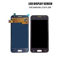 galaxy s lcd assembly toptan satış-Samsung j2 2015 j200 için prepairP lcd ekran j2 2015 j200 için ekran lcd ekran sayısallaştırıcı ekran meclisi