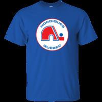 перевозка груза nhl jerseys оптовых-Квебек Nordiques, ретро, хоккей, Джерси, логотип, МГП, НХЛ, 1970-х, семидесятые смешные бесплатная доставка унисекс случайный тройник подарок