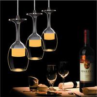 aydınlatma beyaz cam avizeci toptan satış-Modern tasarım 36 W 5730 LED Tavan lambası Yemek odası Kristal Kolye lamba Beyaz Sıcak Beyaz Işık Akrilik cam Avize