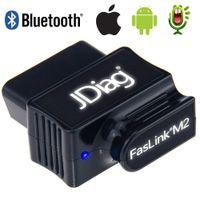 ingrosso originale di scanner bmw-Originale OBD2 Auto Code Reader Bluetooth 4.0 JDiag FasLink M2 Telefono auto strumento diagnostico PK EasyDiag OBDLink Automotive Scanner