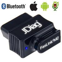 orijinal teşhis aracı olan peugeot citroen toptan satış-Orijinal OBD2 Oto Kod Okuyucu Bluetooth 4.0 JDiag FasLink M2 Telefon Araba Teşhis Aracı PK EasyDiag OBDLink Otomotiv Tarayıcı