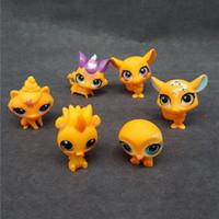 niños lps al por mayor-Nuevo diseño Saintgi Toy Bag 30pcs / Bag Random Little Pet Shop Lps Toys Animal Cartoon Cat Dog Figuras de acción Colección Niños Juguetes Regalo
