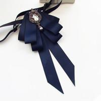 ingrosso bellissimi accessori per le ragazze-Bowtie da donna Bowtie da donna stile college Fashion Bow Tie Beautiful Butterfly Neck Tie con accessori camicia a nastro