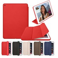 Wholesale smart card wallet for sale - Group buy Magnetic Leather Smart Case Cover Wake Protector For iPad iPad quot Mini Air
