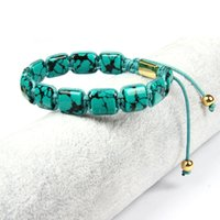 Para Hombre//Damas piedras preciosas de color turquesa Piedra Natural de la amistad surfista jaspe piedras