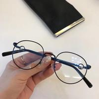 19090d9f9cf40 Marca designer Óculos de Prescrição 0335 homens mulheres óculos de armação  clara lentes de marca designer de óculos de armação das mulheres