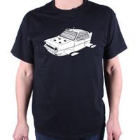 araba film baskısı toptan satış-Bond Bondatics Için Reliant Bond T Gömlek / Reliant Kabarcık Araba Kült Filmi Otomotiv% 100% pamuk casual baskı kısa kollu erkek T Shirt o-boyun