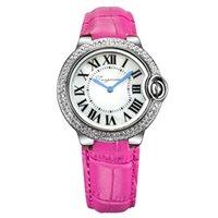 часы наручные оптовых-Марка Рим кристалл алмаза кварцевые Модные женские часы подарок дамы браслет часы mujerstyle reloje