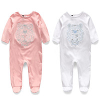 Wholesale infant baby clothing resale online - Fashion Wild Autumn Baby Rompers Newborn M Clothing Infant Costume Cotton Baby Jumpsuit Long Sleeve Cotton Children Clothing